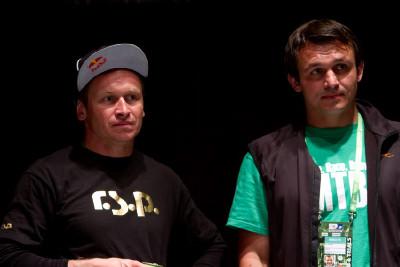 MRSN a Germáno naslouchají tiskové konferenci