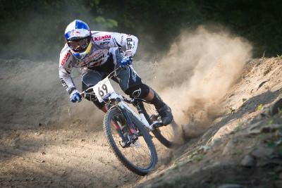 Michal Prokop na tréninku