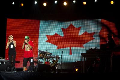 zahájení mistrovství světa MTB 2010 v Quebecu