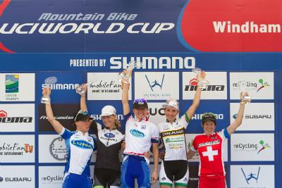 Catherine Pendrel vítězkou světového poháru