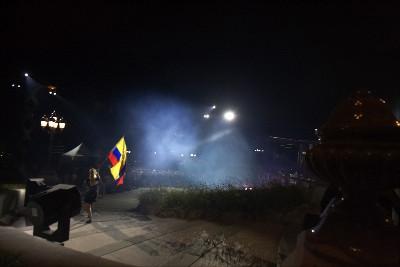 Kolumbii se na zahájení moc nechtělo...