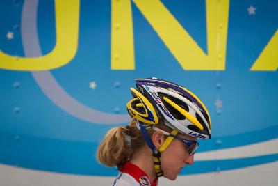 Catherine Pendrel před startem
