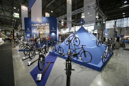 Bike Brno stánky 2011