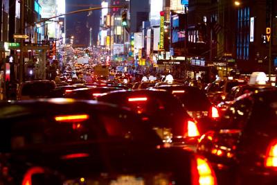 Noční Manhattan