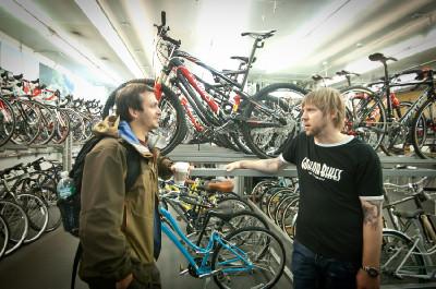 Philip Svercl a Toga Bike Shop