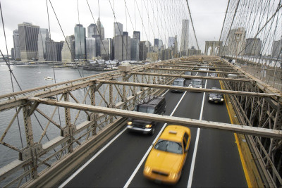 Pohled z Brooklin Bridge