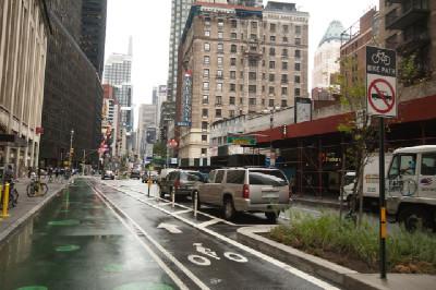 Cyklistické pruhy