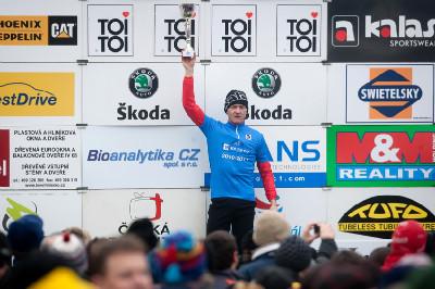 Vítěz poháru David Kášek