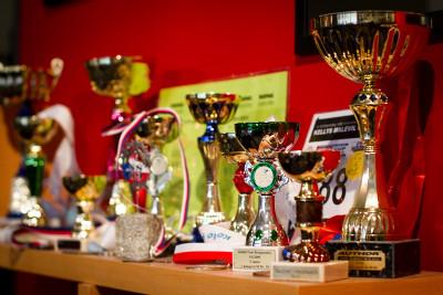 trofeje nechybí