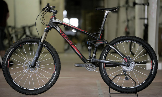 Highend trailbike od Treku
