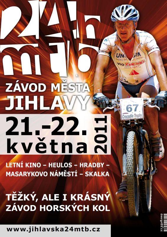 Jihlavská24mtb - krásné plakáty= krásný závod