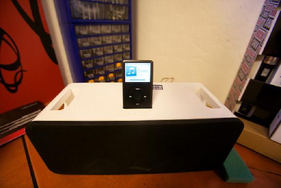 kulisu hudební zajišťuje iPod