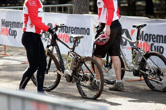 e-bike závod