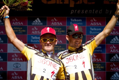 Burry Stander a Christoph Sauser
