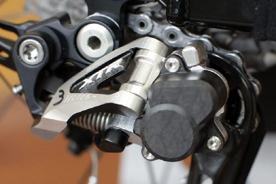 Shimano XTR s lockoutem 2012