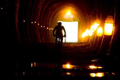 bývalý železniční tunel ve Slavičíně