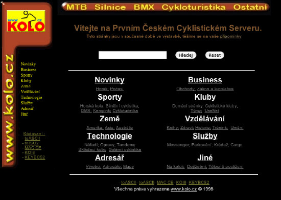 Kolo.cz 1998