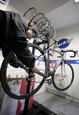 Bikecentrum Radima Kořínka obrazem