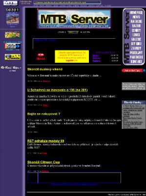 MTB Server říjen 1998