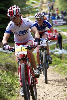 Ren a Bresset celý závod spolu