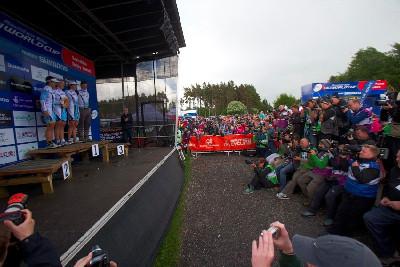 Central Haibike vyhrál týmovou soutěž žen
