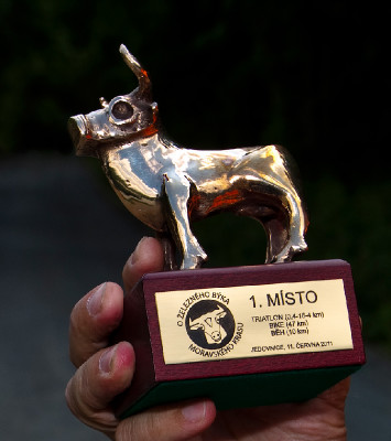 Zlatý Železný býk pro vítěze