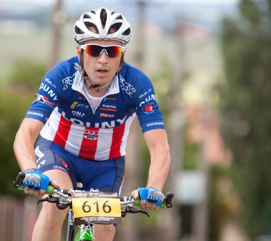 vítěz bikemaratonu Martin Mareš