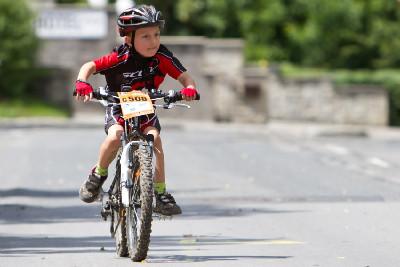 pětiletý závodník Fitness jízdy