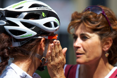 Tereza s maminkou Vendulou
