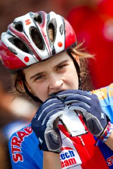 Barbora Machulková se posilňuje před startem
