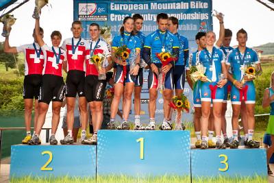 Mistrovství Evropy MTB 2011 - štafety