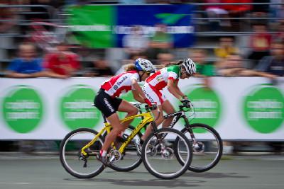 sprint o vítězství mezi Neff a Lechner