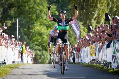 Martin Zlámalík vítězí