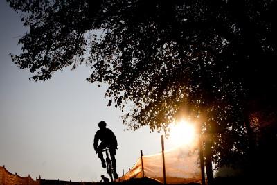 cyklokrosové ráno v Táboře