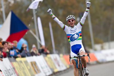 Lars van der Haar vyhrává kategorii U23
