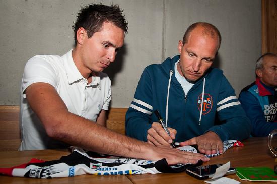 Jiří Hudeček a Petr Benčík