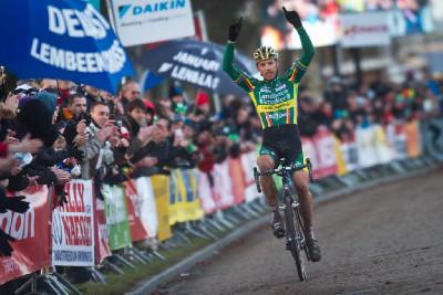 Sven Nys vítězí