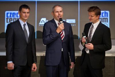 Marek Eben a majitelé firmy Alpine Pro