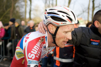 Klaas Vantornout byl nejaktivnějším mužem závodu