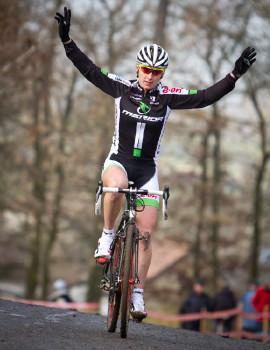 první cyklokrosové vítězství Pavlíny Šulcové
