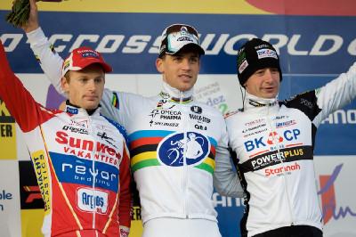 Fotogalerie: Světový pohár v cyklokrosu, Liévin 2012