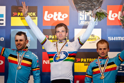 1.Albert, 2.Peeters, 3.Pauwels