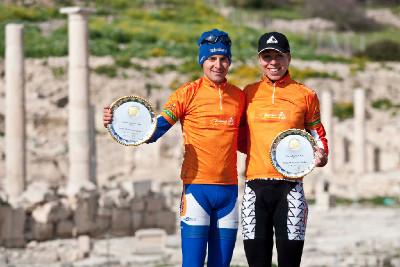 - Fabian Giger a Annika Langvad - vítězové Sunshine Cupu 2012