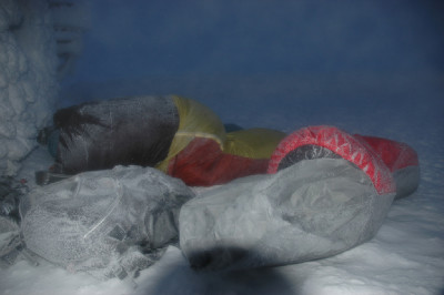 trénink - bivak na Sněžce