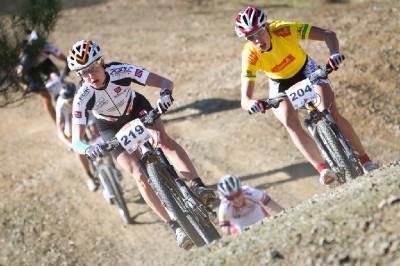 3.etapa: Adelheid Morath a Annika Langvad