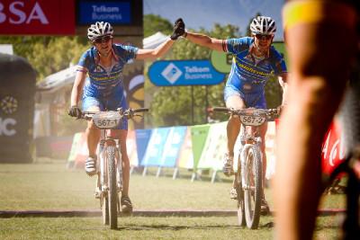 1. etapa - Cyklotrenink.com dojíždí do cíle v Robertsonu