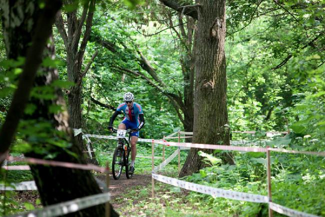 Martin Fusek v lesním úseku