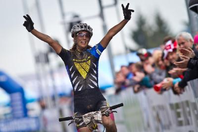 vítězka Jolanda Neff