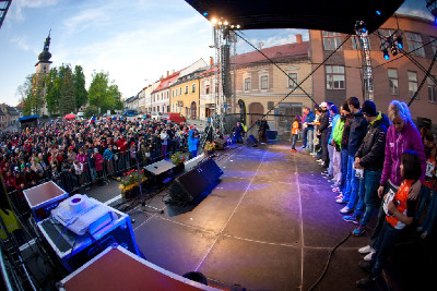 slavnostní předávání čísel v Novém Městě na Moravě