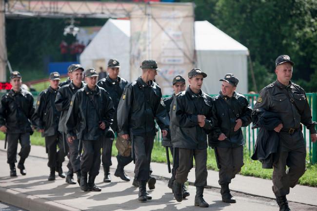 Konečně domů. Moskevská milicija má padla!